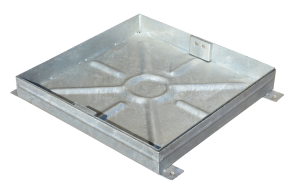 Recessed Block Paving Manhole 600 x 600 x 80mm